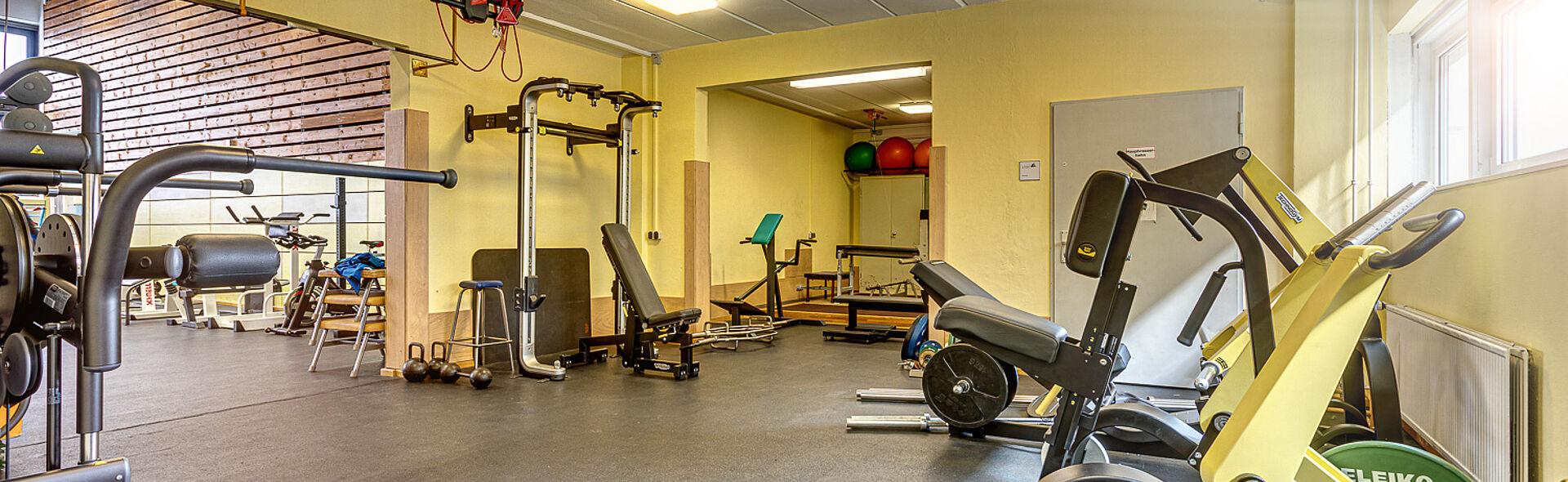 Bundesstützpunkt Oberwiesenthal Sportkomplex Krafthalle Trainingszentrum