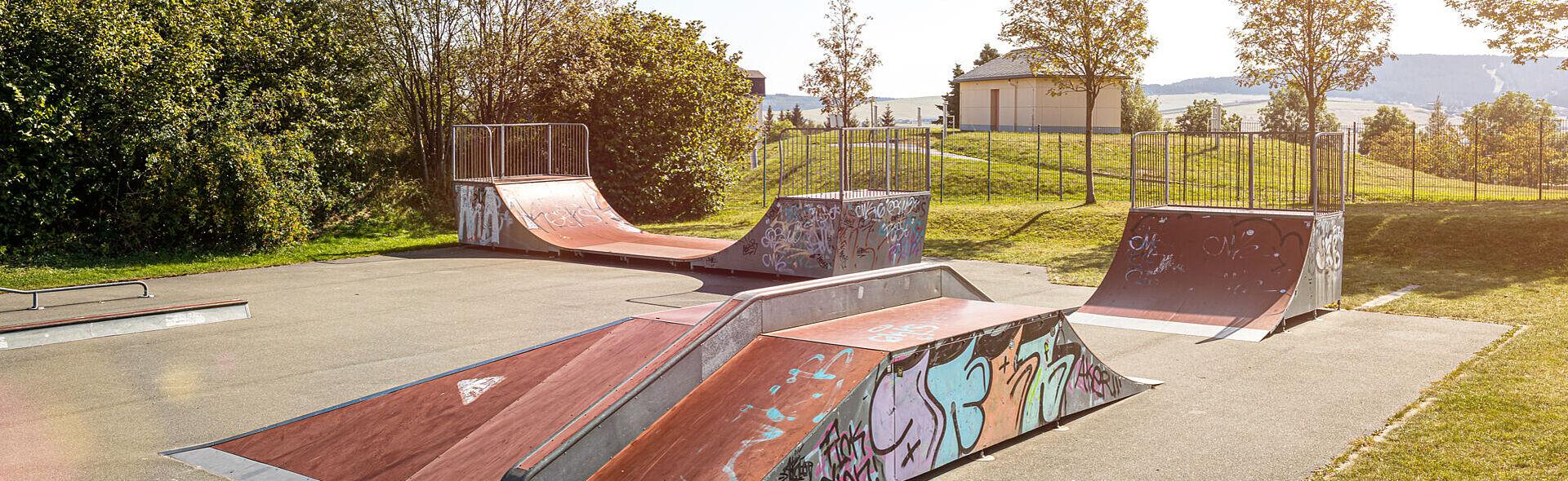 Skate-Park Skaten Oberwiesenthal Trainingszentrum