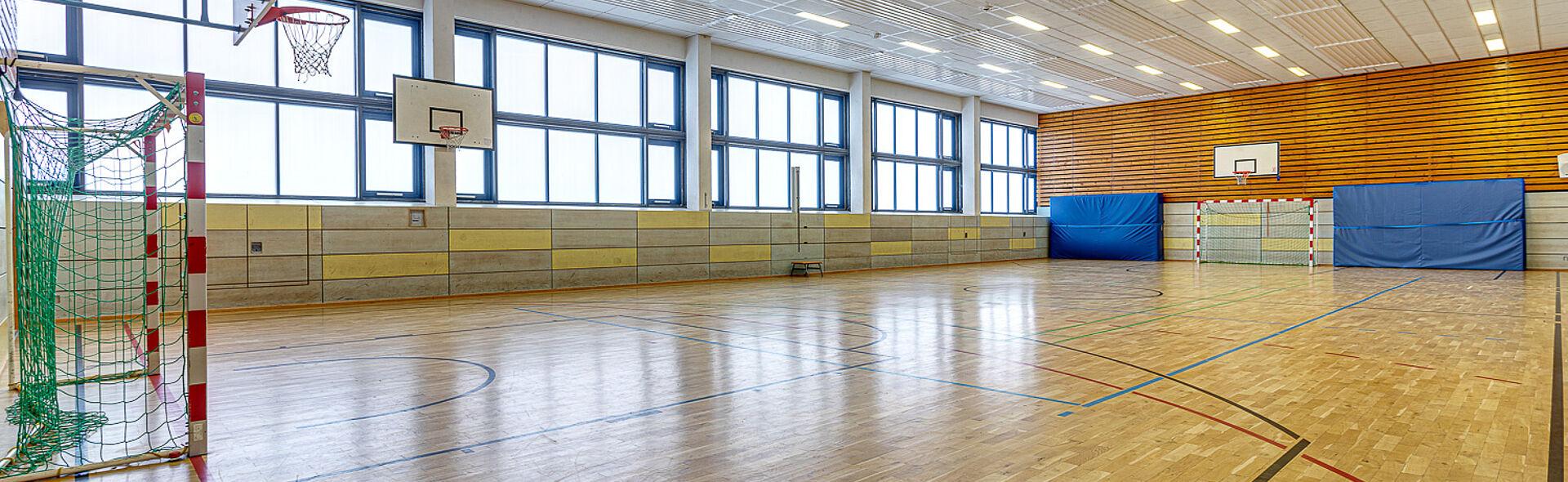 Spielhalle Bundesstützpunkt Oberwiesenthal Trainingszentrum