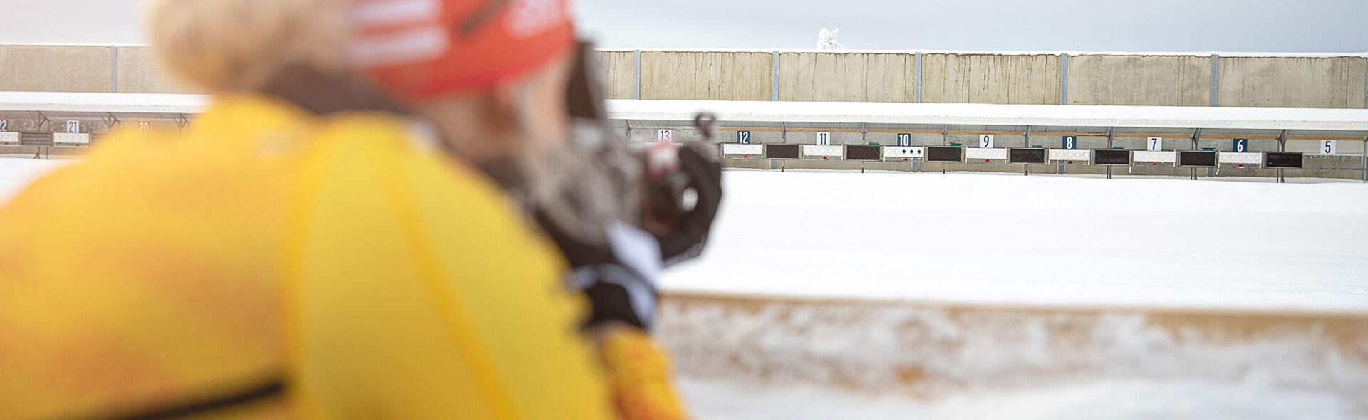 Biathlon Sparkassen-Skiarena Oberwiesenthal Fichtelberg Trainingszentrum Training Center
