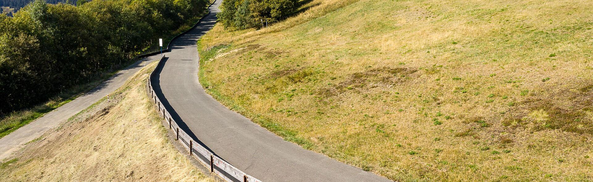 Rennschlitten Rennrodeln Oberwiesenthal Trainingszentrum